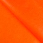Бумага упаковочная тишью, оранжевый, 50 см х 66 см