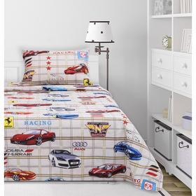 Детское постельное бельё 1,5сп «Драйв», 143х214, 143х214, 50х70 см