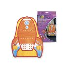 Органайзер на спинку сиденья Ракета PHANTOM Kids (4 кармана и 2 вставки), 55х40,5 см