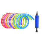 Шар для моделирования 260, цвета МИКС, набор 100 шт. + насос - фото 952305
