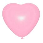 """Шар латексный 36"""" """"Сердце"""", 1 шт., цвет розовый - фото 308470291"""