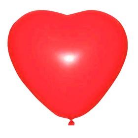 """Шар латексный 36"""" """"Сердце"""", 1 шт., цвет красный"""