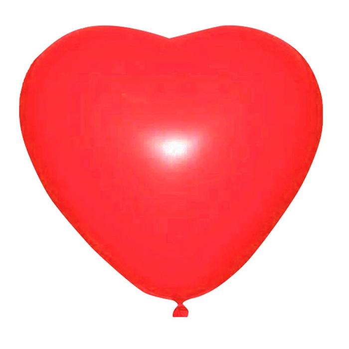 """Шар латексный 36"""" """"Сердце"""", 1 шт., цвет красный - фото 308469117"""