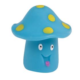 Резиновая игрушка для игры в ванной «Грибочек», цвет МИКС