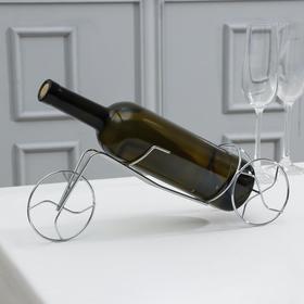Подставка для бутылки Доляна «Велосипед», 36×8,5×11 см
