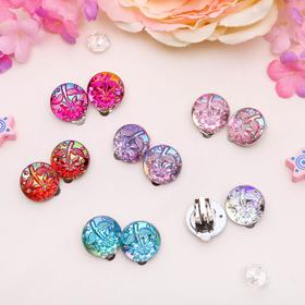 """Clips baby """"Vibracula"""" the flower, MIX color"""