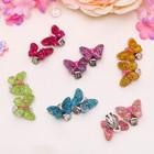 "Clips baby ""Vibracula"" butterfly shiny, MIX color"