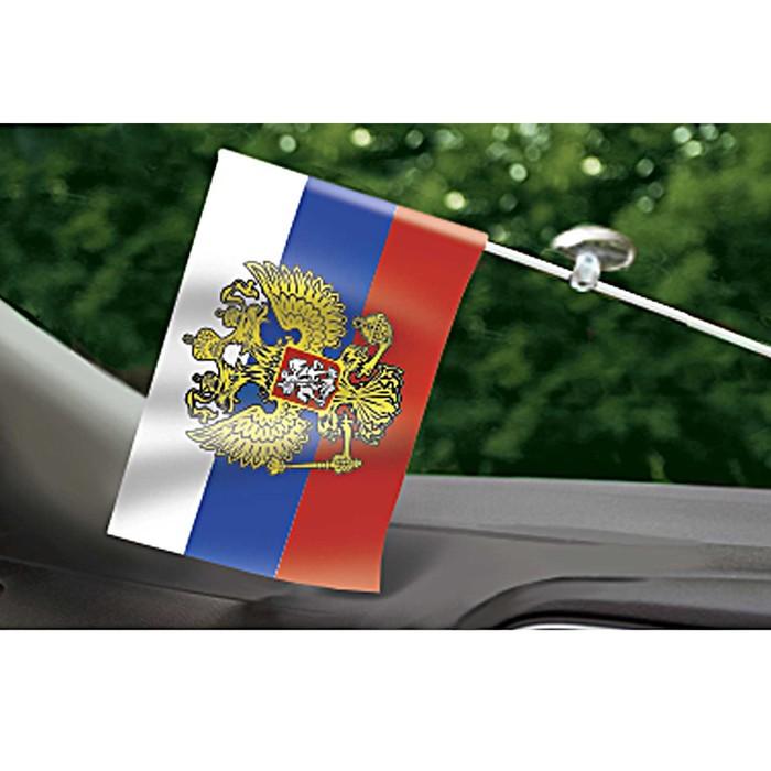 """Флаг на присоске """"Россия"""""""