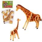 Конструктор 3D «Жирафы»