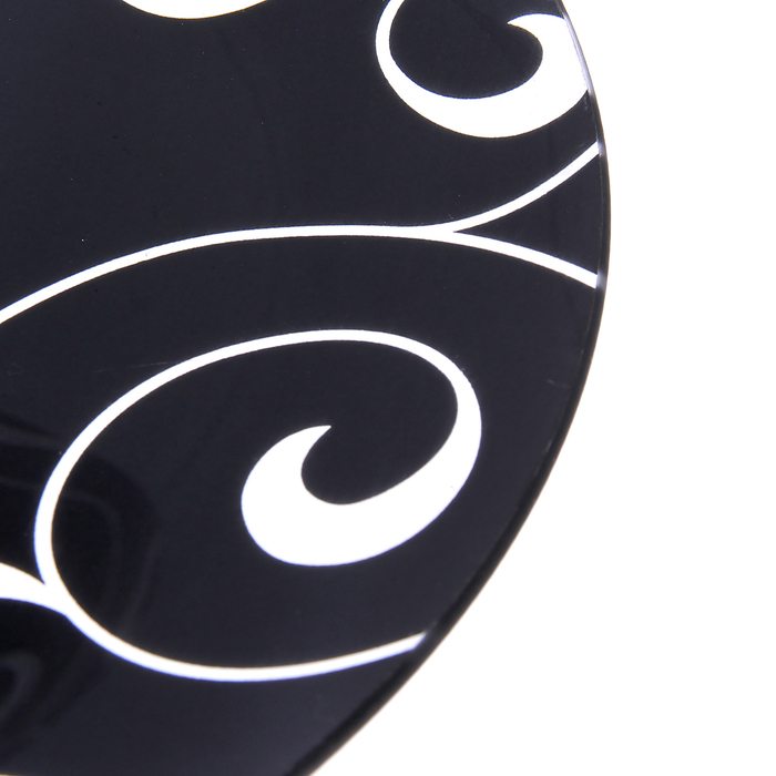 """Этажерка 2-ярусная 24х30 см """"Марокко"""", цвет чёрный, подарочная упаковка"""