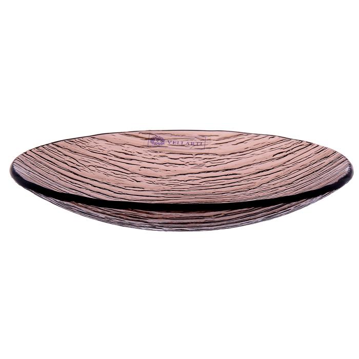 Тарелка 16,5 см, цвет бронзовый