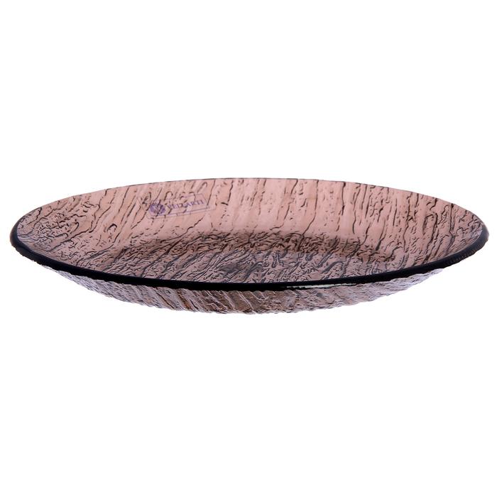 Тарелка 20 см, цвет бронзовый