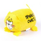 "Soft toy cat ""Bring happiness"""