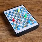 Набор игр 5 в1, магнитные, цветные 16.5х12 см - фото 105616807