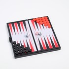 Backgammon Pocket magnetic 13x13 cm