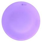 Тарелка 24 см, цвет сиреневый