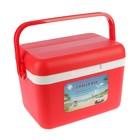 """Термоконтейнер """"Cooler box"""" 8 л, удержание температуры до 10 ч, красный, 30х22х20 см"""