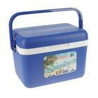 "Термоконтейнер ""Cooler box"" 8 л, удержание температуры до 10 ч, синий, 30х22х20 см"