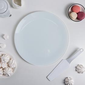 {{photo.Alt || photo.Description || 'Подставка для торта «Белая», d=30 см, с лопаткой, в подарочной упаковке'}}