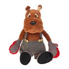 """Мягкая игрушка """"Бульдог Рокки в перчатках"""" 23 см MT-111613-23"""
