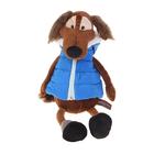 """Мягкая игрушка """"Пёс Шерлок в жилетке"""", 28 см"""