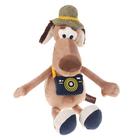 """Мягкая игрушка """"Пес Барбос с фотоаппаратом"""" 28 см MT-111603-28"""