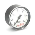 """Манометр UNI-FITT 300P2020, аксиальный, 6 бар, диаметр 50 мм, 1/4"""""""