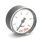 """Манометр UNI-FITT 300P3020, аксиальный, 10 бар, диаметр 50 мм, 1/4"""""""