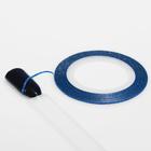 Лента клеевая для декора ногтей «Блёстки», 0,1 см, 10 м, цвет синий
