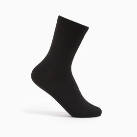 Носки детские Ft-0-L-1 цвет чёрный, р-р 22-24 Ош