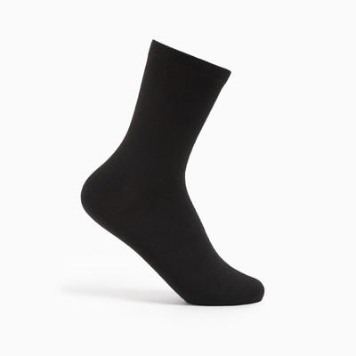 Носки детские Ft-0-L-1 цвет чёрный, р-р 22-24