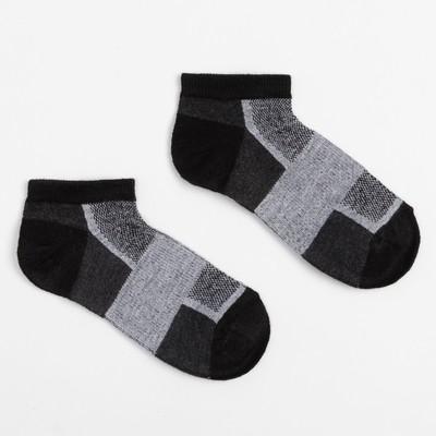 Носки женские, цвет чёрный размер 23-25