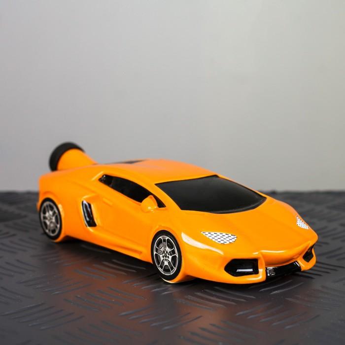 "Штоф ""Машина Ламба"", оранжевый"