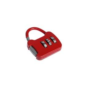 Замок навесной кодовый, Type 8, красный Ош
