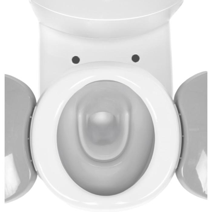 Горшок детский дорожный, складной, цвет голубой, в комплекте 10 одноразовых пакетов - фото 105450674