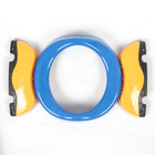 Горшок детский дорожный, складной, цвет голубой, в комплекте 10 одноразовых пакетов - фото 105450676