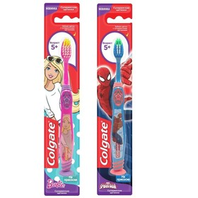 Детская зубная щётка Colgate Smiles, от 5 лет, цвет МИКС