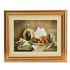 """Картина """"Овощной букет"""" 23*28 см рамка микс"""