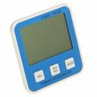Термометр электронный с гигрометром (DC107), 1 AAA (нет в комплекте), синий