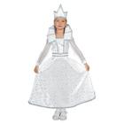 """Карнавальный костюм """"Снежная королева"""", платье, корона, р-р 28, рост 98-104 см"""