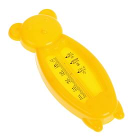 Термометр детский для воды в виде мишки, пластик, 14 см, микс