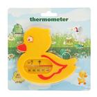 Термометр детский для воды в виде уточки, пластик, 11 см, микс