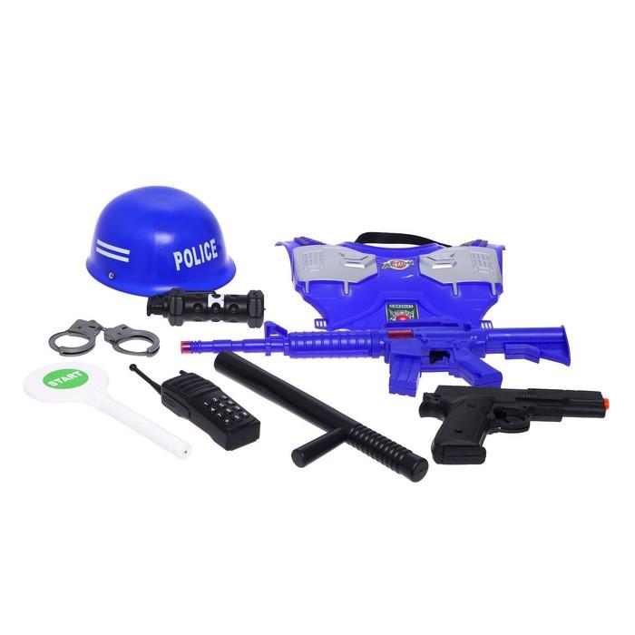 Набор полицейского «Защитник», 9 предметов