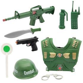 Набор военного «Отряд А», 9 предметов
