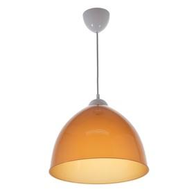 Люстра подвес 'Андриана', 1 лампа, коричневая, d = 30 см Ош