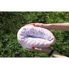 """Подушка многофункциональная для кормления и укачивания  """"Мороженка"""", розовый плюш"""
