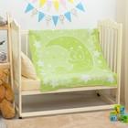 """Одеяло """"Луна и малыш"""", размер 100х118 см, цвет салатовый, хл50%пр50% 360 г/м DC235611"""