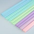 Бумага крепированная «Тренд», 10 цветов микс, 32 г/м², 50 x 200 см