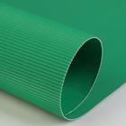 Картон цветной, гофрированный, 700 х 500 мм, Werola e-wave, 110 г/м², светло-зеленый