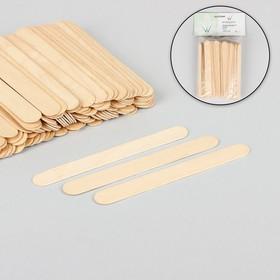 Шпатель для депиляции, деревянный, 15 × 1,7 см Ош